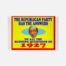 The Republican Party Has The Answers Magnets