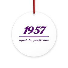 Perfect 1957 Ornament (Round)