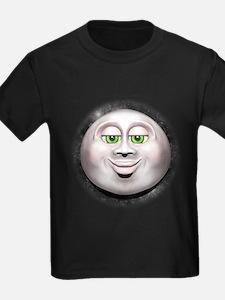Full Moon Smiling Face 3D T-Shirt