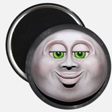 Full Moon Smiling Face 3D Magnets