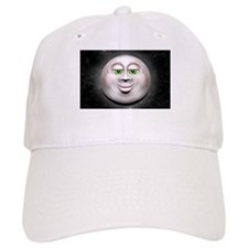 Full Moon Smiling Face 3D Baseball Baseball Cap