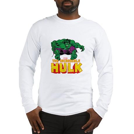 The Hulk Badge Long Sleeve T-Shirt