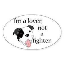 Pitbull Lover Decal