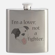 Pitbull Lover Flask