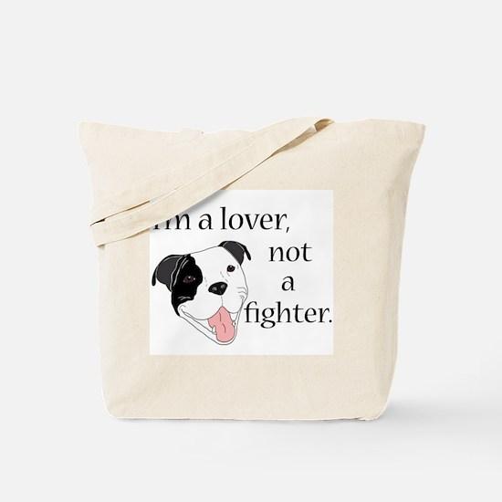 Pitbull Lover Tote Bag