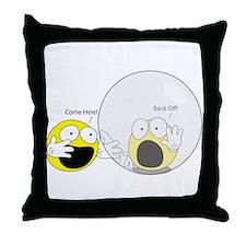 Introvert Hamster Ball Throw Pillow