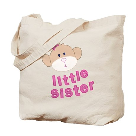 little sister monkey Tote Bag