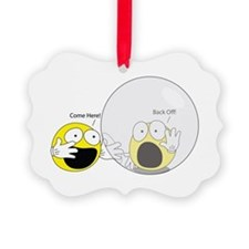 Introvert Hamster Ball Ornament