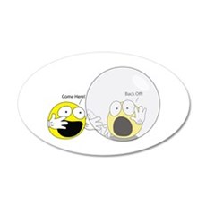 Introvert Hamster Ball Wall Decal