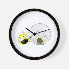 Introvert Hamster Ball Wall Clock