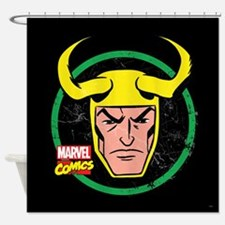 Loki Circle Shower Curtain