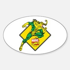 Loki Diamond Sticker (Oval)