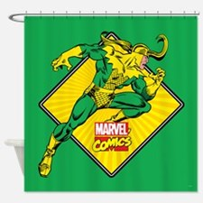 Loki Diamond Shower Curtain