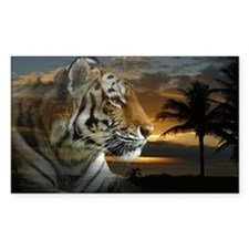 Tiger Sunset Decal
