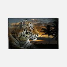 Tiger Sunset 3'x5' Area Rug