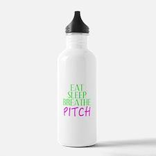 Eat Sleep Breathe Pitch Water Bottle