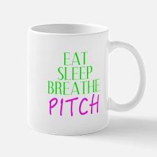 Eat Sleep Breathe Pitch Mugs
