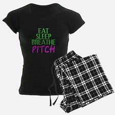 Eat Sleep Breathe Pitch Pajamas