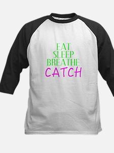 Eat Sleep Breathe Catch Baseball Jersey