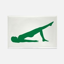 Pilates Rectangle Magnet (10 pack)