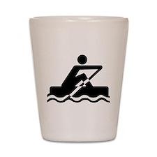 Rowing Shot Glass