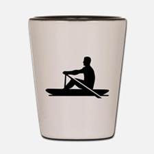 Rowing rower Shot Glass