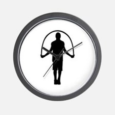 Jump rope Wall Clock