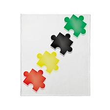 Puzzle Throw Blanket