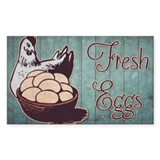 Fresh Eggs Decal