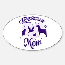 Rescue Mom Decal