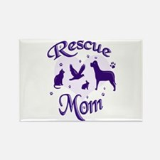 Rescue Mom Magnets
