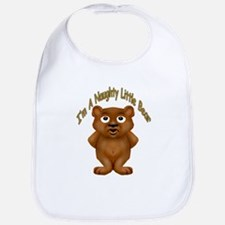 Naughty Little Bear Bib