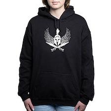 Wings of glory white Hooded Sweatshirt