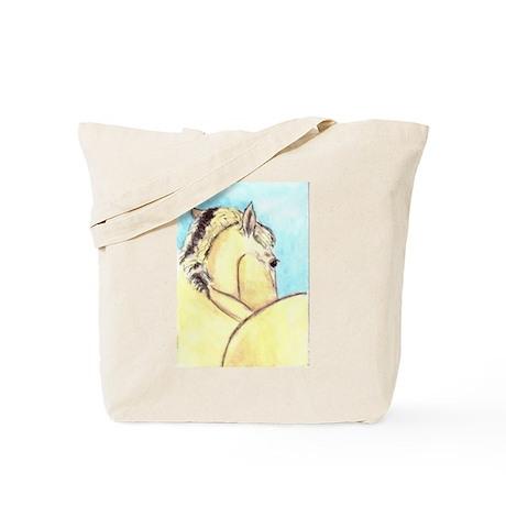 Norwegian Fjiord Horse Tote Bag