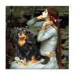 Ophelia & Cavalier (BT) Tile Coaster