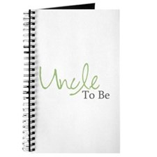 Uncle To Be (Green Script) Journal