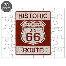 Miami Route 66 Puzzle