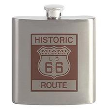 Miami Route 66 Flask