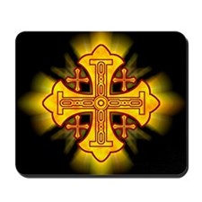 Jerusalem Cross Mousepad