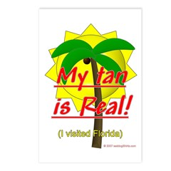 My Tan is Real- visited Florida Postcards (Package