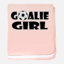 Goalie Girl - Soccer baby blanket