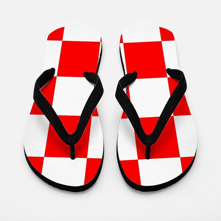 Flip Flops Croatia coat of arms Flip Flops