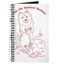 Kaja Keeshond Gardener Journal