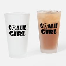 Goalie Girl - Soccer Drinking Glass