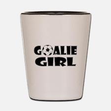 Goalie Girl - Soccer Shot Glass