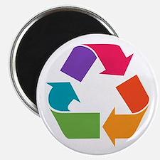 Rainbow Recycle Magnet