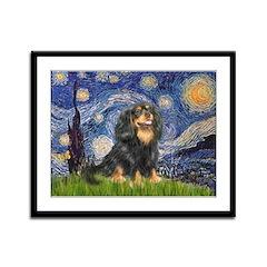 Starry Night Cavalier Framed Panel Print