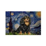 Starry Night Cavalier Rectangle Magnet (10 pack)