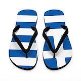 Greece flag Flip Flops