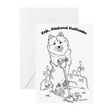 Suncoast Keeshond Rescue Greeting Cards